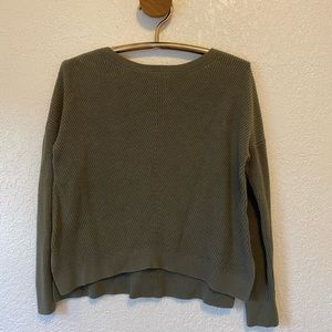 Olive Green Abercrombie Sweater
